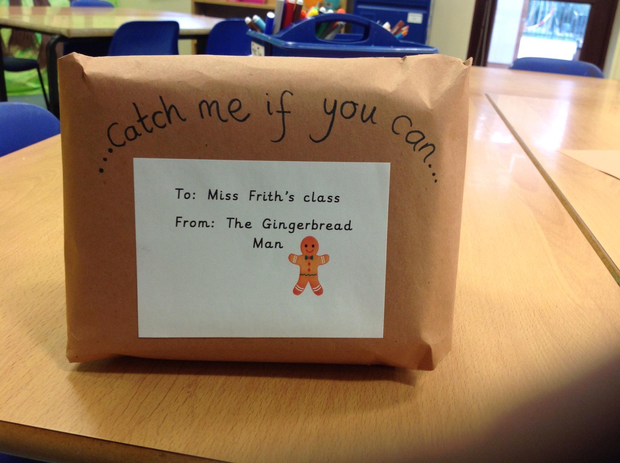 The Gingerbread Man Hunt | All Saints CEVA Primary School, Stibbard