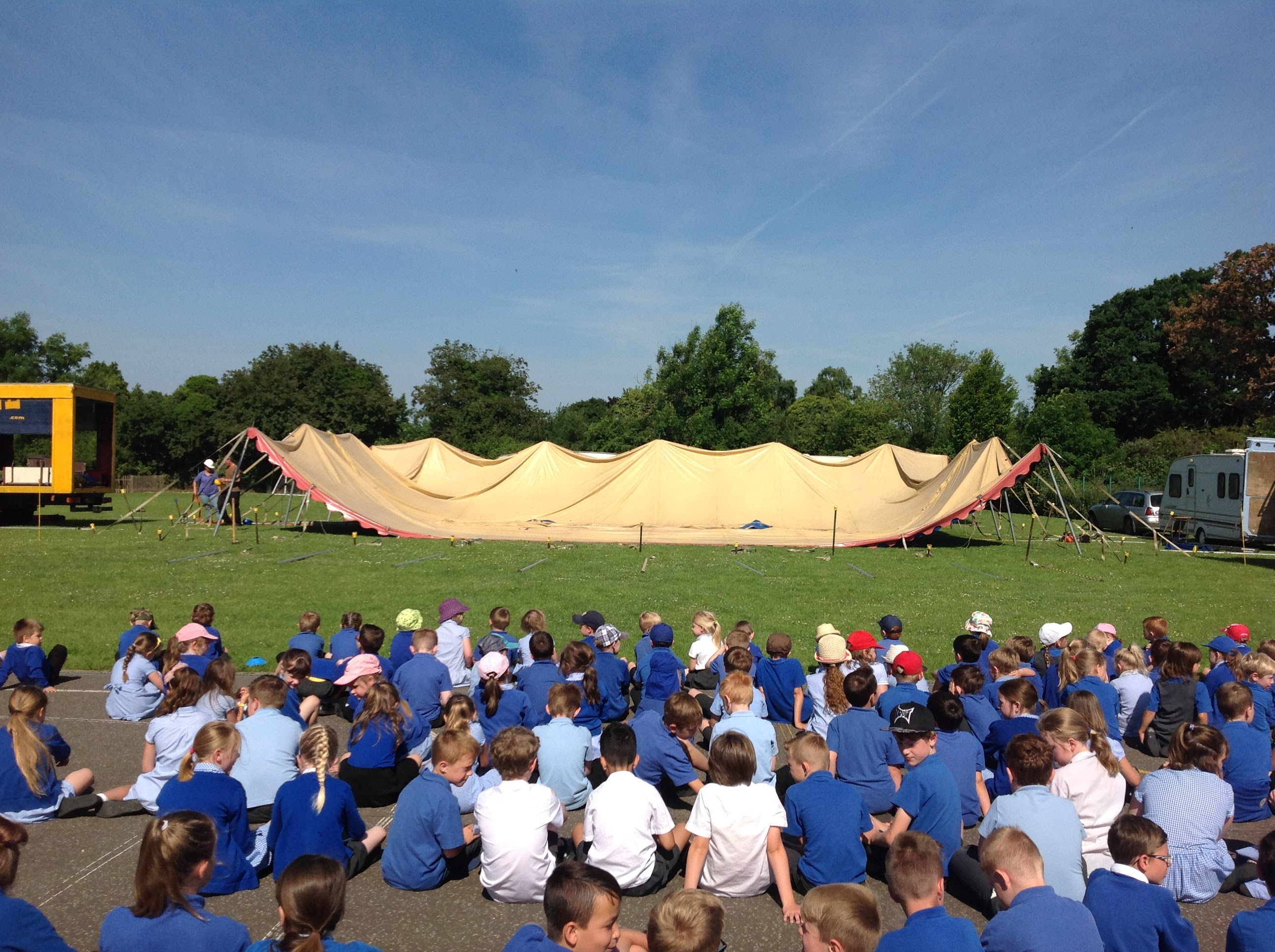 Roll Up! Roll Up! The Circus has Arrived in Stibbard! – All Saints