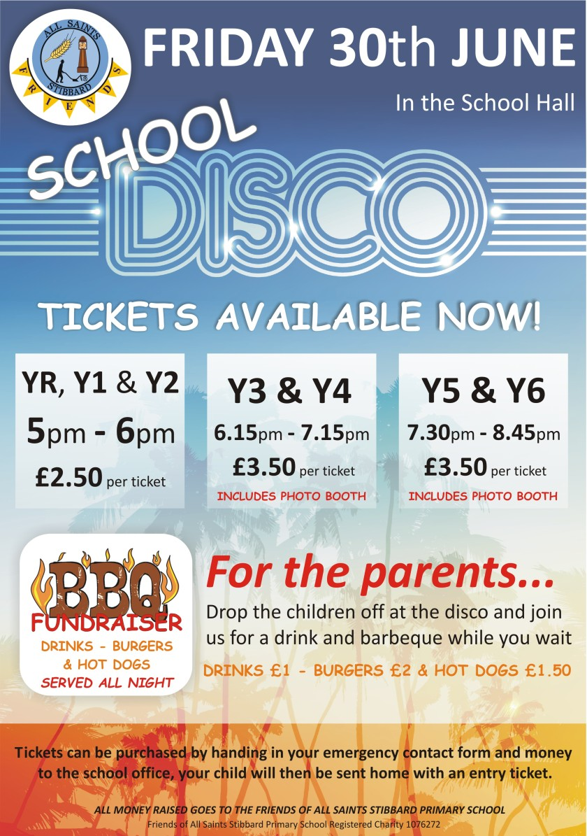 Summer Disco general poster.