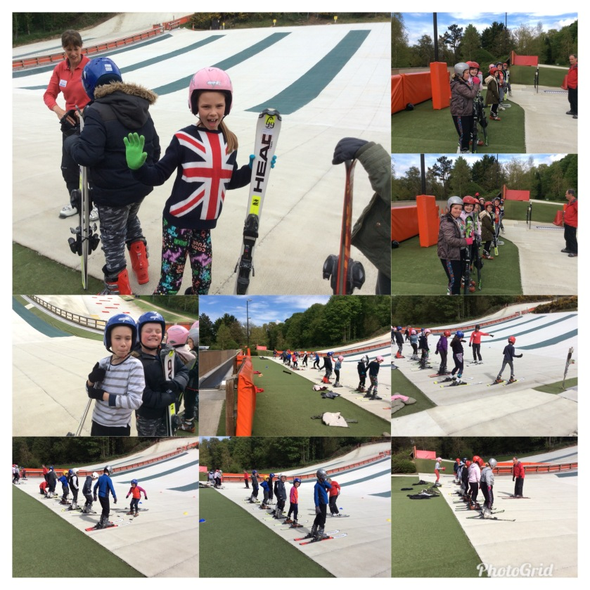Year 5 Skiing Lesson